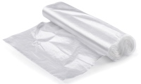 Clear, open-top or grip-seal, plain or printed polythene bags